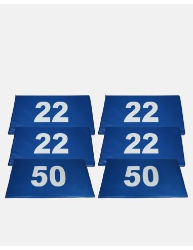 FM22/50 - Segment Marker Field Set (4 x 22 / 2 x 50) - Impakt - Impakt