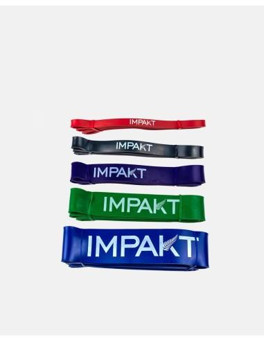 - Latex Rubber Strength Bands Pack - Impakt