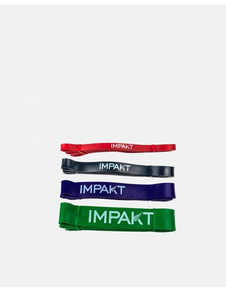 022 - Latex Rubber Strength Bands Pack - Impakt