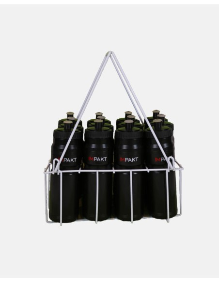 WC12-12 - Wire Water Bottle Carrier and 12 Water Bottles - Impakt - Impakt