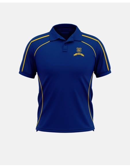 160 - Cut & Sew Polo Shirts Raglan Sleeves - Impakt