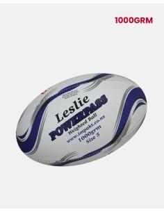 023-RBL-P-1000-Leslie - Senior Power-pass Rugby Ball 1Kg - Leslie - Impakt - Impakt