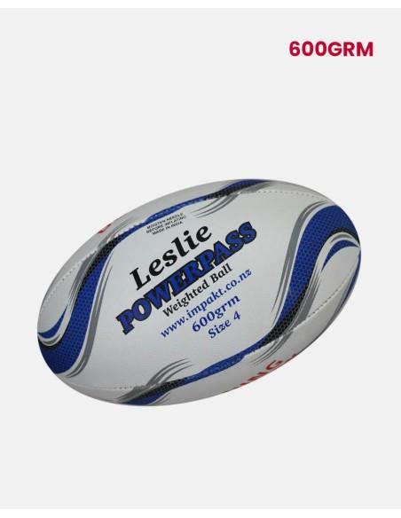 270-RBL-P-600-Leslie - Junior Power-pass Rugby Ball 0.6Kg - Leslie - Impakt - Impakt