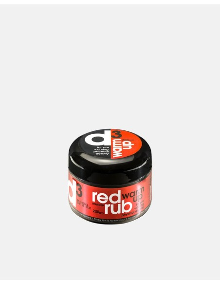 WRUB200RDR - Red Muscle Warm Up Rub 200Gr - Impakt - Impakt