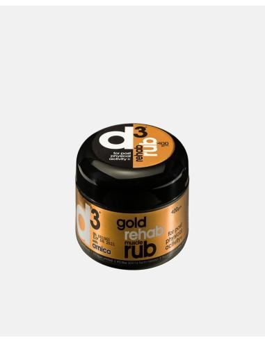 RRUB400GDR - Gold Rehab Muscle Rub 400grams - Impakt - Impakt