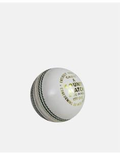 032 - County Match Cricket Ball White (2 PCE) - Impakt - Impakt