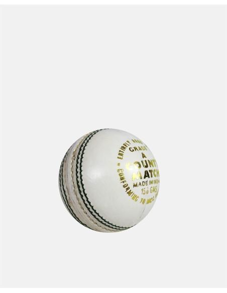 370 - County Match Cricket Ball White (4 PCE) - Impakt - Impakt