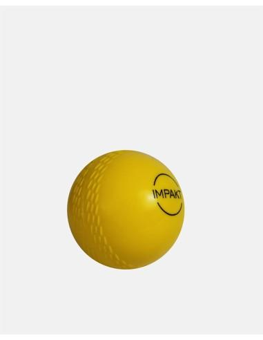 430 - Plastic Cricket Ball Yellow - Impakt - Impakt