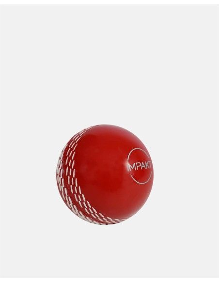 420 - Plastic Cricket Ball Red - Impakt - Impakt